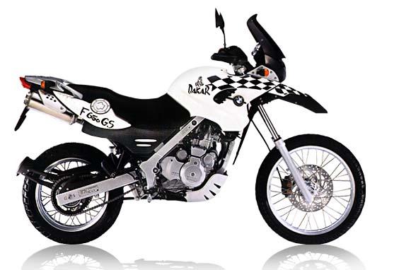 2001 Bmw F650 Dakar