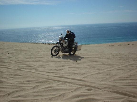Baja California On A 2001 Bmw F650 Dakar